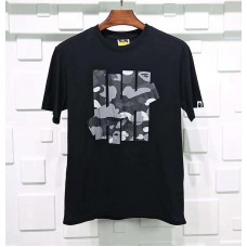 BAPE x Undefeated 5 Strikes Tee Black