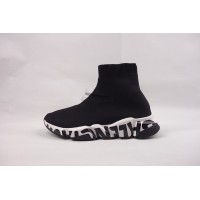 UA BC Speed Trainer Graffiti Trainers Black White