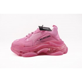 UA BC Triple S Clear Sole Trainer Pink