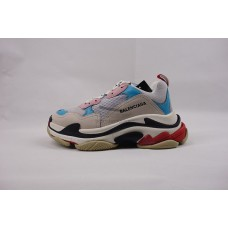 UA BC Triple S Trainer White Blue Pink