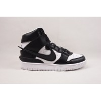 UA Dunk SB High Ambush Black White
