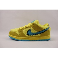 UA Dunk SB Low Grateful Dead Bears Opti Yellow