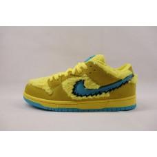 UA Nike Dunk SB Low Grateful Dead Bears Opti Yellow