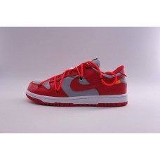 Nike Dunk Low Off White Red