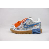 UA Air Rubber Dunk Off White UNC