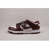 UA Dunk SB Low Supreme Stars Barkroot Brown