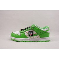 UA Dunk SB Low Supreme Stars Mean Green