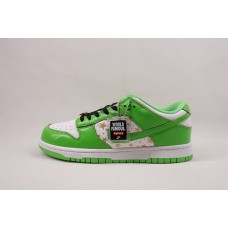 UA Dunk SB Low Supreme Stars Mean Green