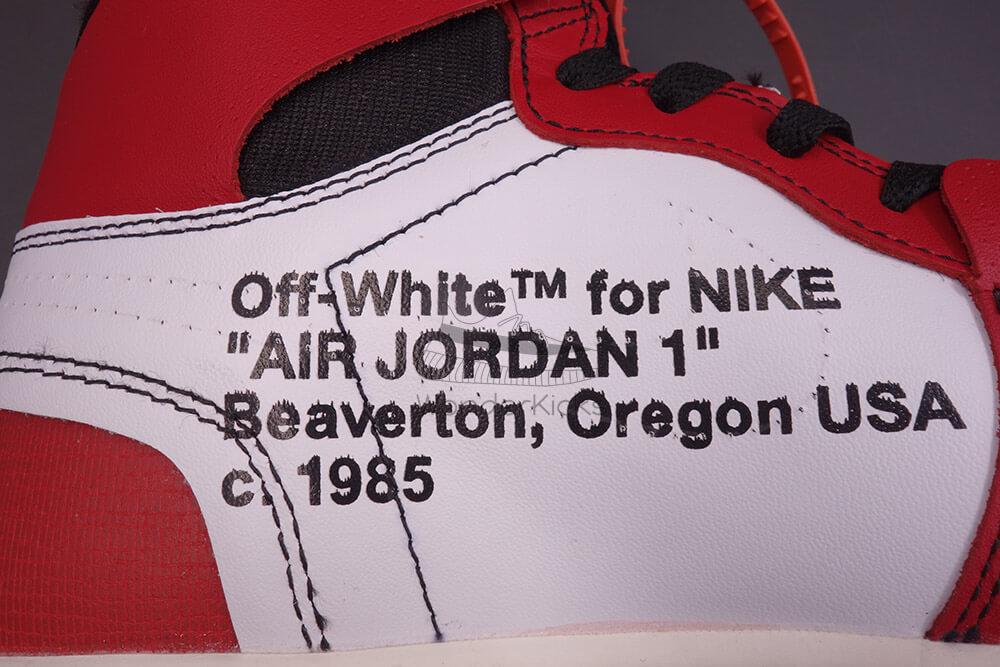 ecd12c34914d Buy Best Quality UA Air Jordan 1 High OG Off White Virgil Chicago ...